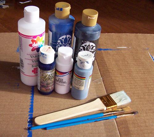 Diy tardis canvas painting tutorial create in the chaos diy tardis canvas painting tutorial solutioingenieria Choice Image