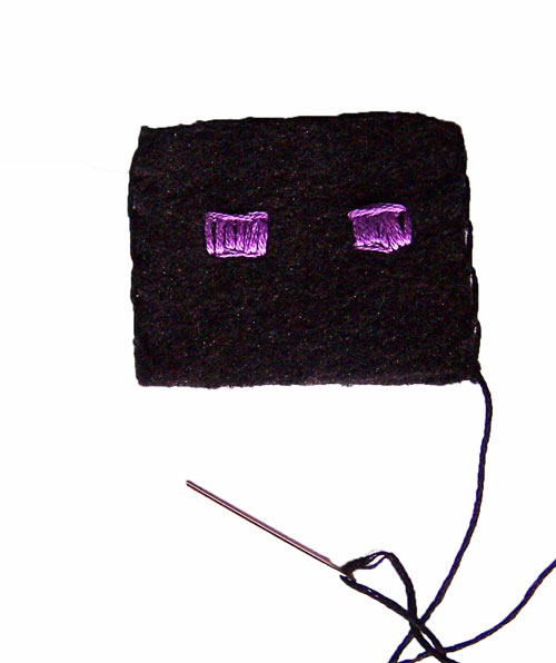 Minecraft Finger Puppet Tutorial: Enderman