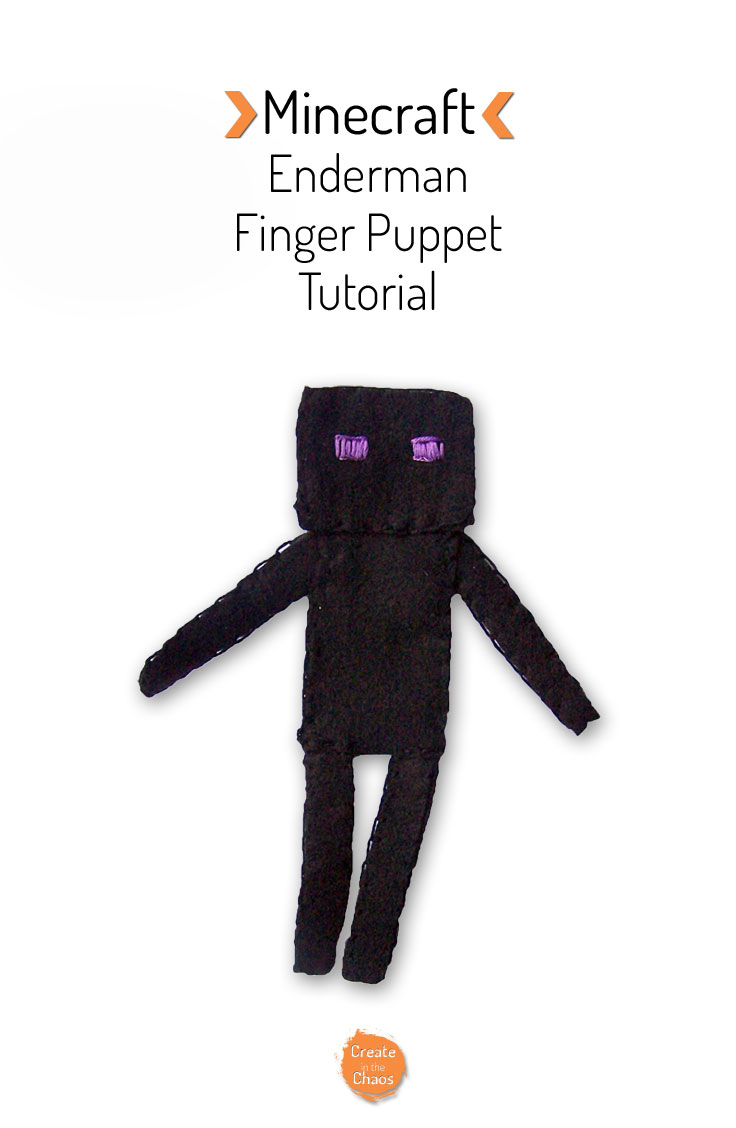 how to build a enderman in minecraft