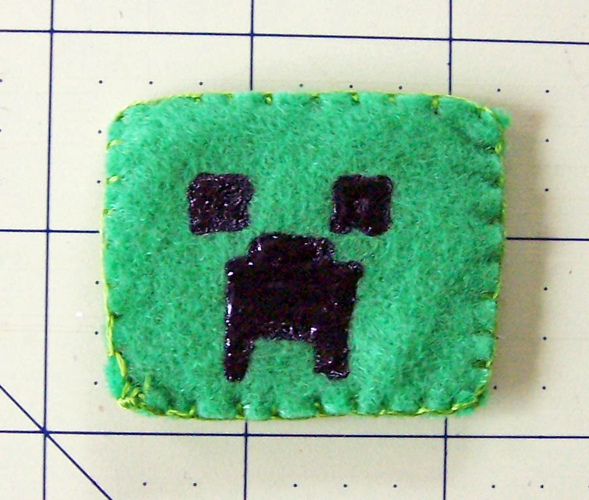 Minecraft Finger Puppet Tutorial Creeper Create In The Chaos