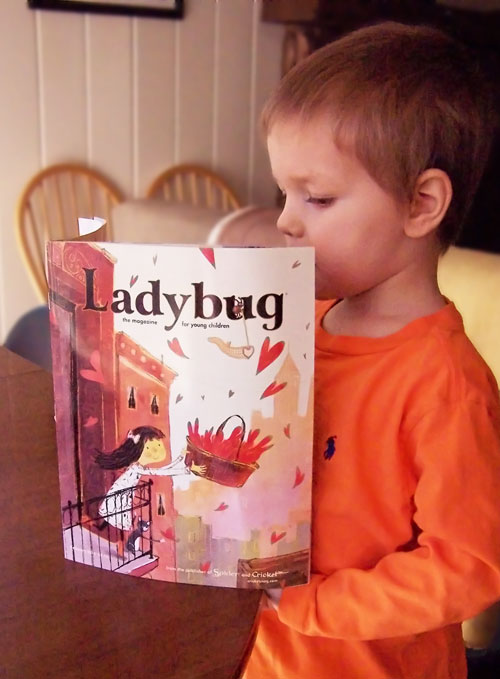 Cricket, Spider, and Ladybug – Kids Magazines
