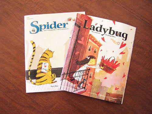 spider-ladybug-kids-magazine