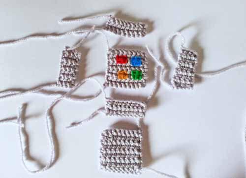 Crochet Robot amigurumi tutorial with free pattern www.createinthechaos.com