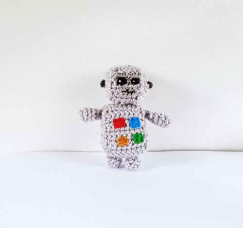 Crochet Robot Pattern and Tutorial