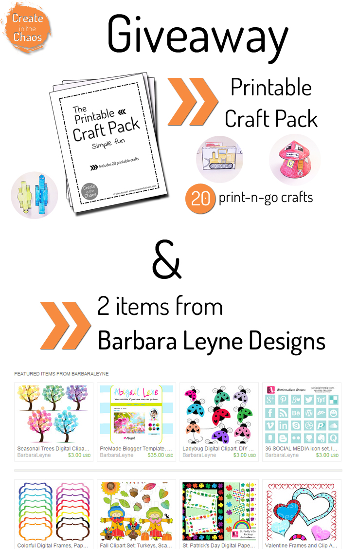Craft Pack + Other Fun Stuff Giveaway