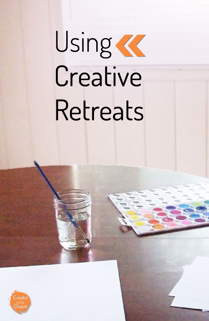 Using creative retreats to recharge your creative life