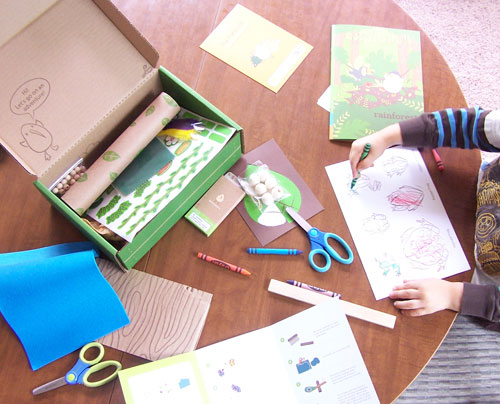 Did you know you can purchase individual craft boxes from Kiwi Crate? - Review