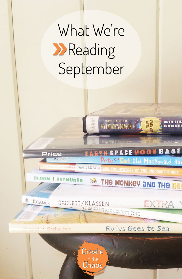 What we're reading - September - plus fun resources and links www.createinthechaos.com