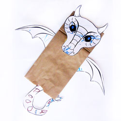 Cardboard dragon costume create in the chaos for Cardboard dragon template