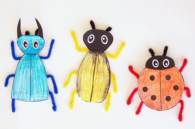Printable Bug Craft