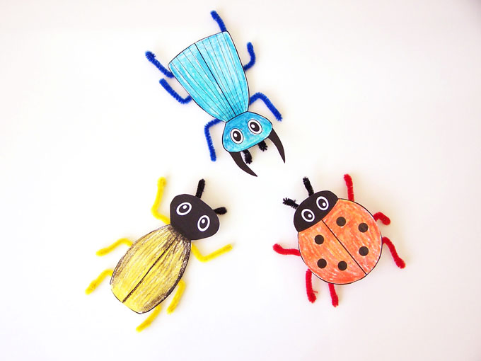Printable Bug Craft - Create in the Chaos