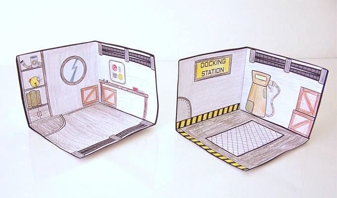 Printable Robot House