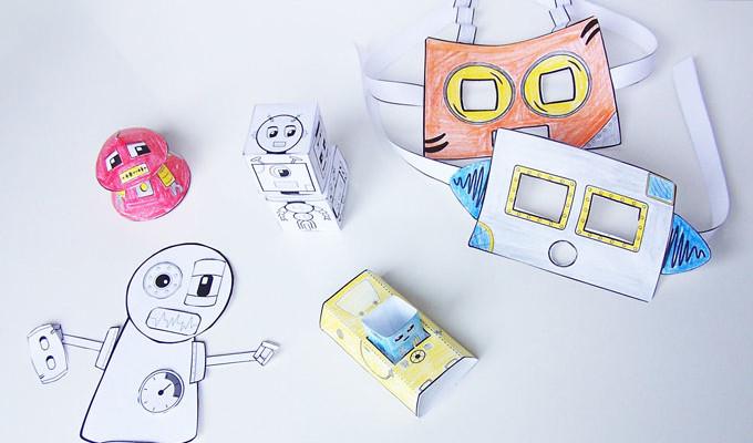 Robot Craft Pack