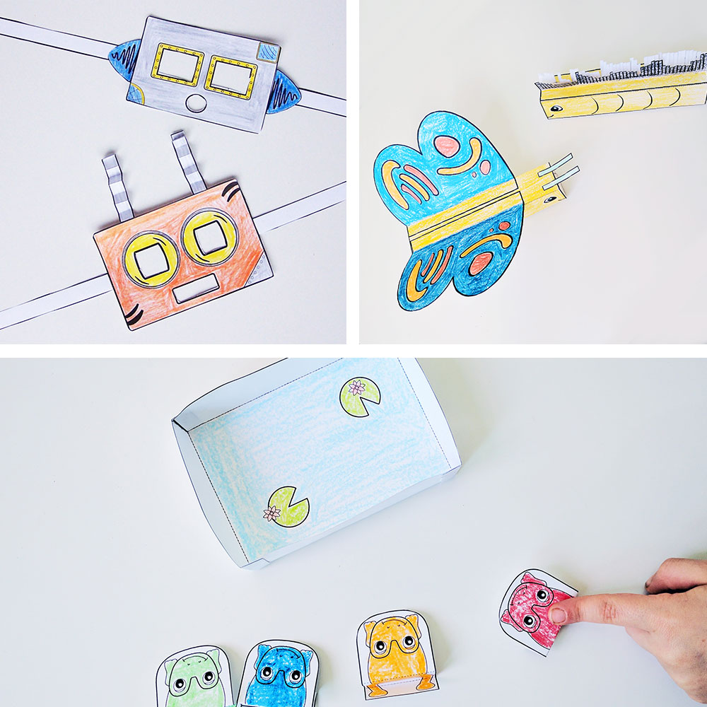 Printable Papercrafts for Kids