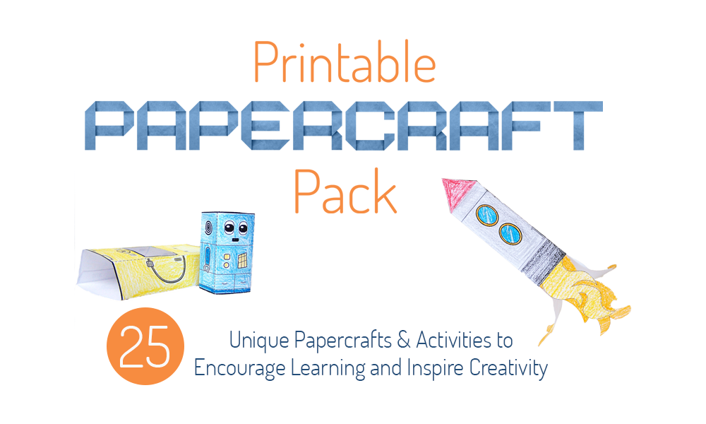 Printable Papercrafts for Kids to Inspire Creativity and Learning
