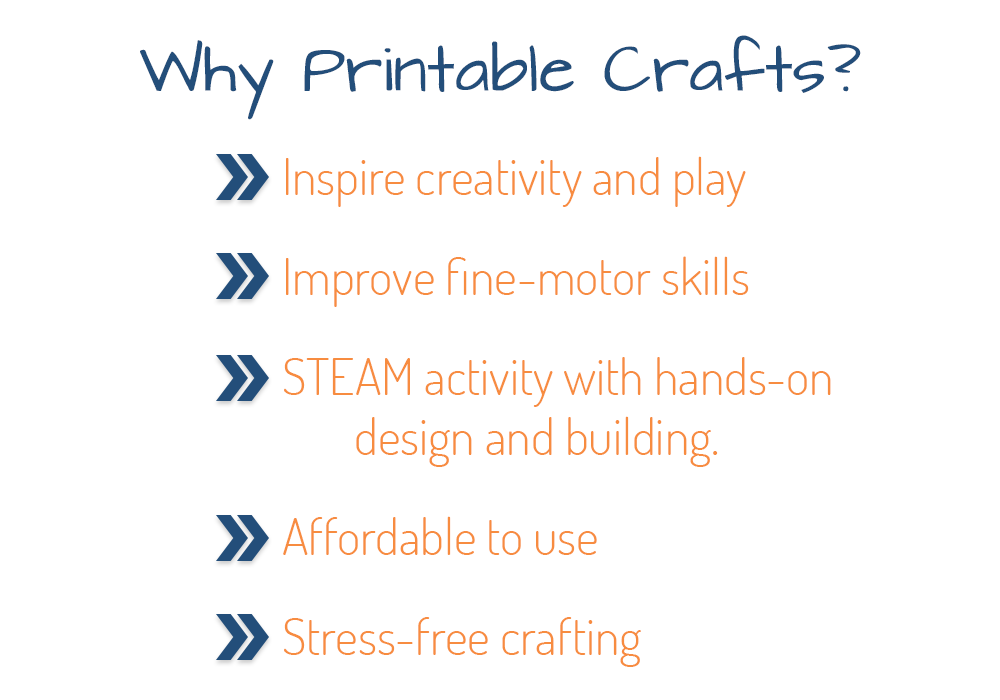 Why should you use printable crafts?