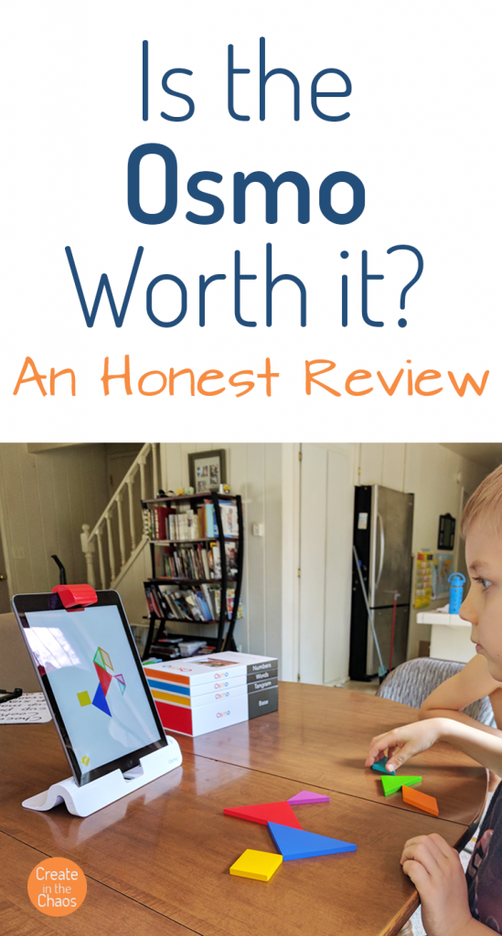 Is the Osmo worth it? An honest review and a look at how we're using it for homeschool. Create in the Chaos