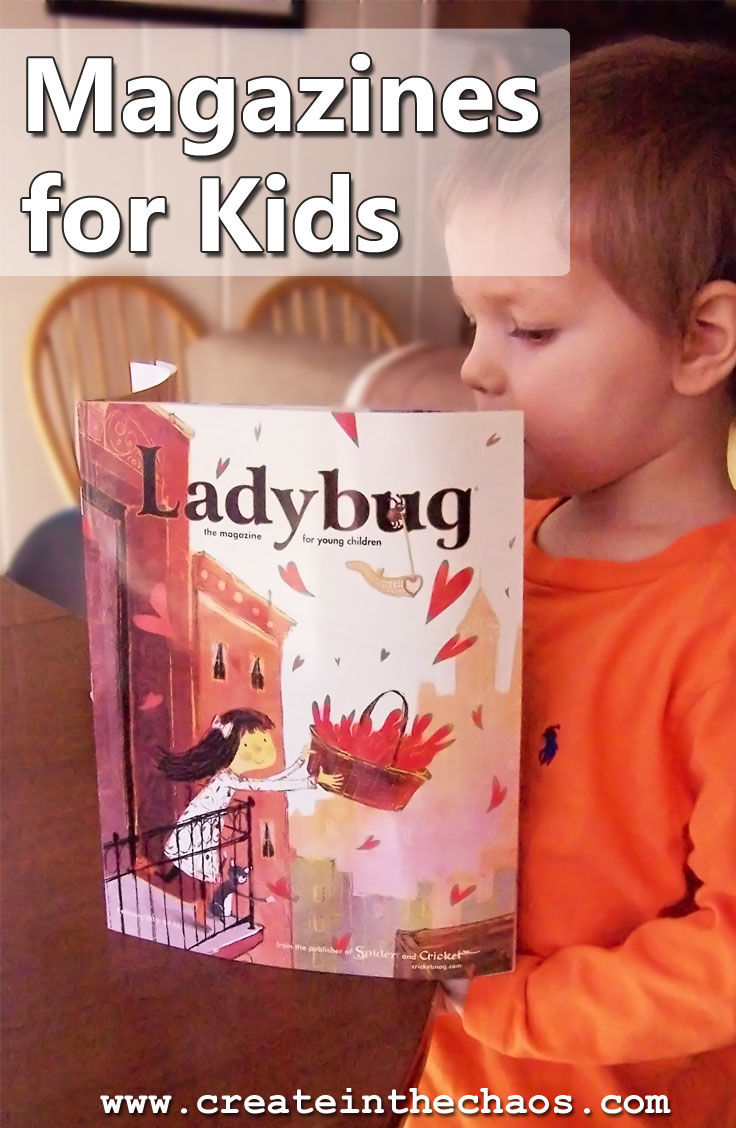Awesome magazines for kids www.createinthechaos.com