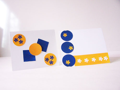 Simple trick for creative card making (and it's inexpensive, too!) www.createinthechaos.com