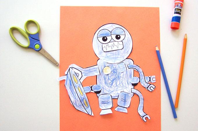 Printable Build-a-Bot