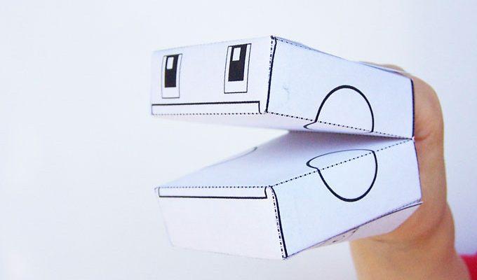 Printable Transforming Robot Craft