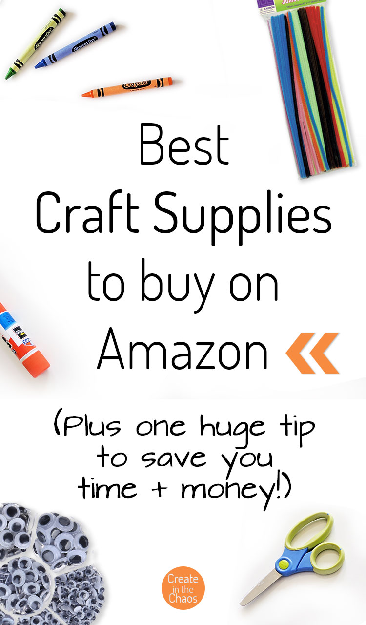 The best craft supplies I've found to buy on Amazon! And are you using this important tip to save yourself time & money on Amazon?