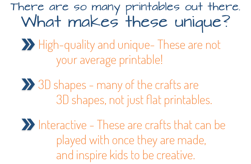 What Makes These Printables Different?