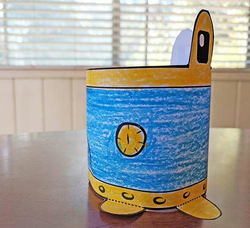 Printable robot craft
