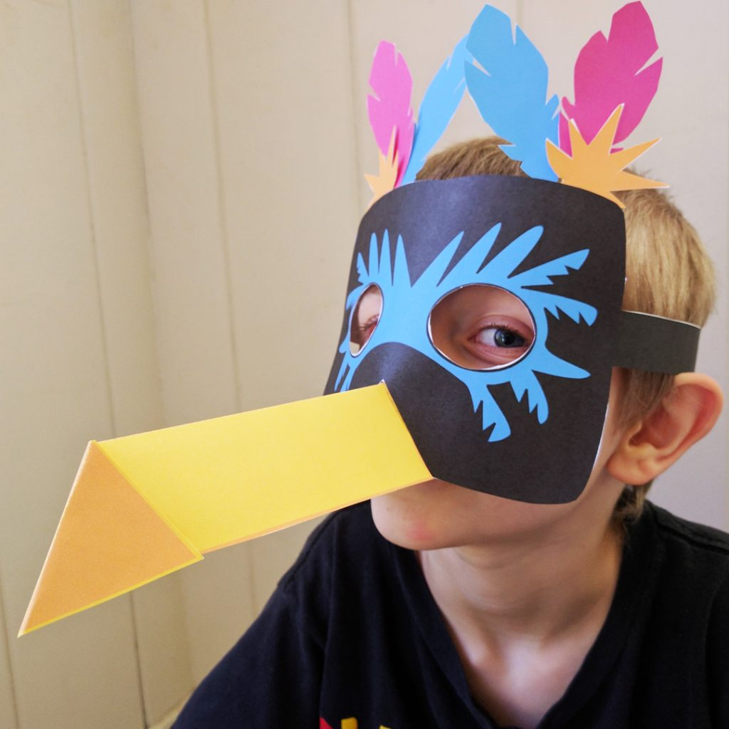 Printable Toucan Mask