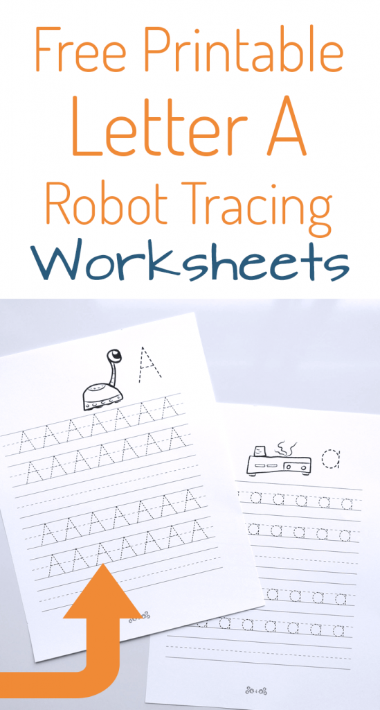 Free printable letter tracing practice worksheets