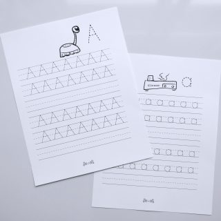 free printable letter tracing practice