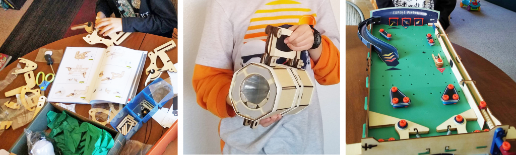 Honest review of Eureka Crate from KiwiCo - create in-depth, practical projects for older kids.