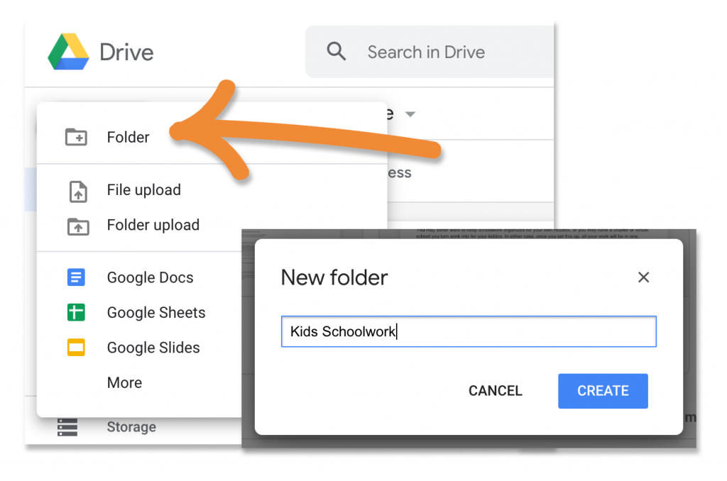 How to use Google Drive to organize your homeschool