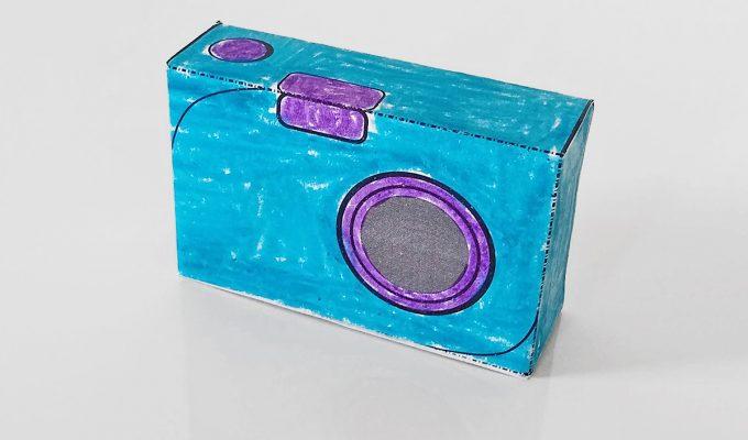 Printable Camera Papercraft