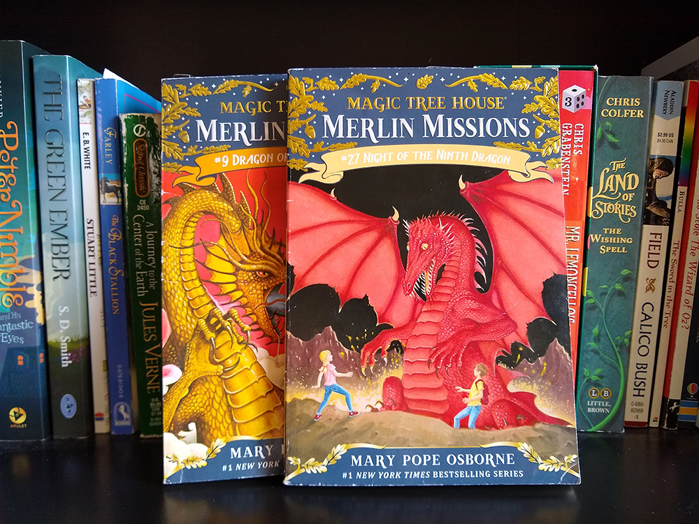 Look for the best dragon book series for kids? I'm sharing our favorite early chapter books with dragons, as well as some of the best dragon book series for older kids